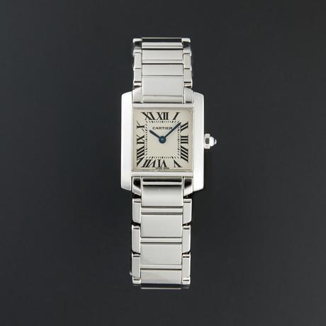 Cartier Tank Francaise Small Quartz // 2403 // Pre-Owned