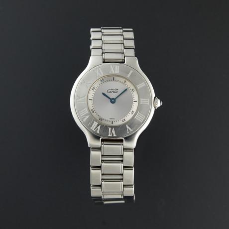Cartier Must 21 Quartz // W10110T2 // Pre-Owned