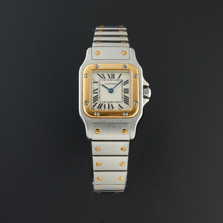 Cartier Santos Galbee Automatic // 21665 // Pre-Owned