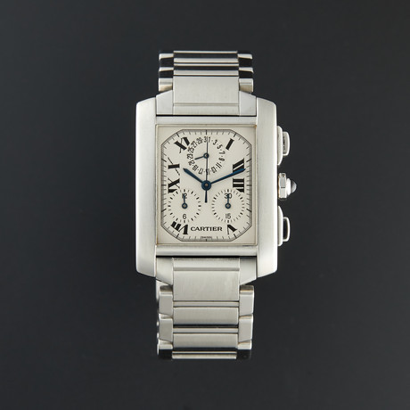 Cartier Tank Francaise Chronoflex Automatic // 2303 // Pre-Owned