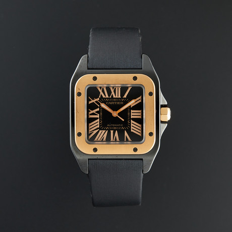 Cartier Santos 100 Automatic // W2020007 // Pre-Owned