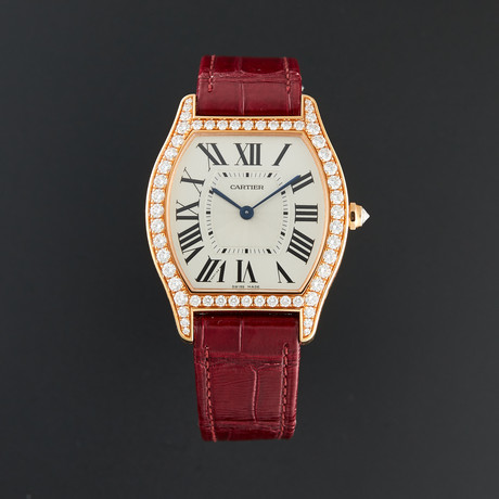 Cartier Ladies Tortue Manual Wind // WA501008 // Unworn