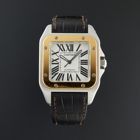Cartier Santos 100 Automatic // W20072X7 // Pre-Owned