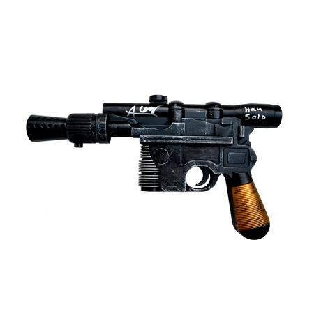 Alden Ehrenreich Han Solo // Autographed Star Wars DL-44 Blaster