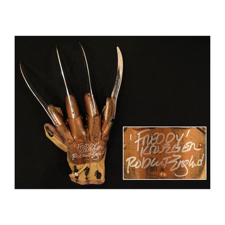 Robert Englund // Autographed Freddy Krueger Glove