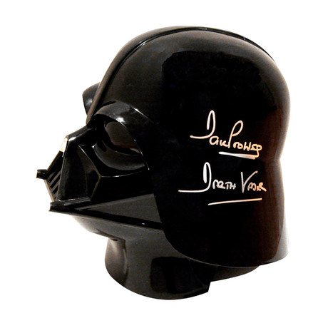 Dave Prowse // Autographed Darth Vader Full Size Helmet