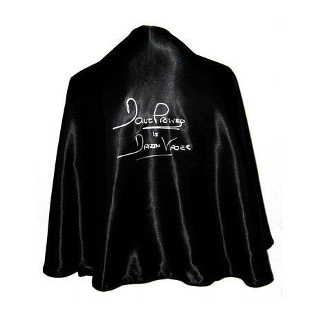 Dave Prowse // Autographed Darth Vader Full Size Cape