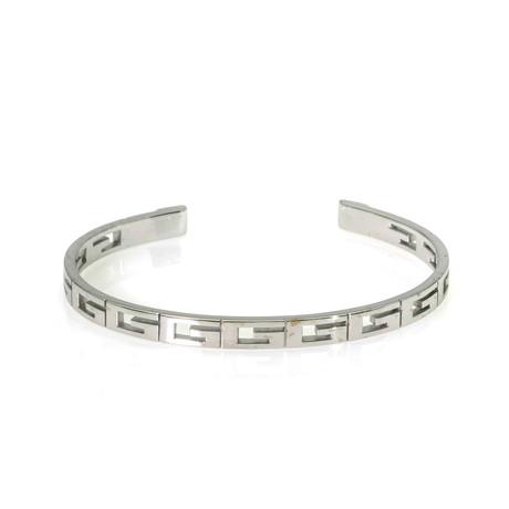 Gucci Icons 18k White Gold Bracelet