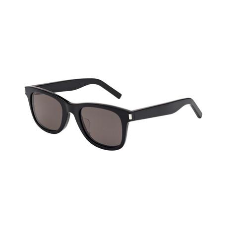 Saint Laurent // Unisex Square Sunglasses // Black I