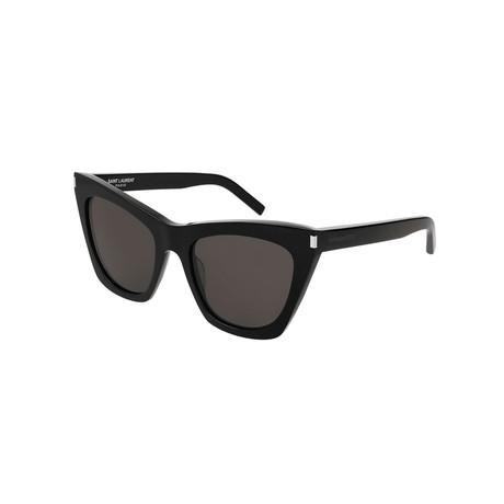 Saint Laurent // Unisex Cat-Eye Sunglasses // Black IV