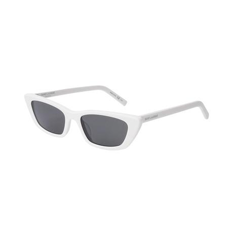 Saint Laurent // Unisex Cat-Eye Sunglasses // Black III