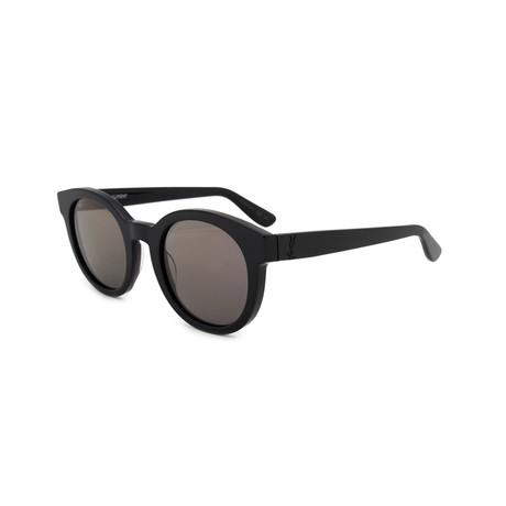 Saint Laurent // Unisex SLM15 Round Sunglasses // Black