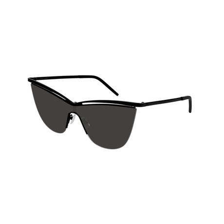 Saint Laurent // Unisex Cat-Eye Sunglasses // Black V