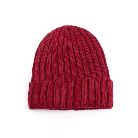 Cascade Wool Hat (Bordeaux)