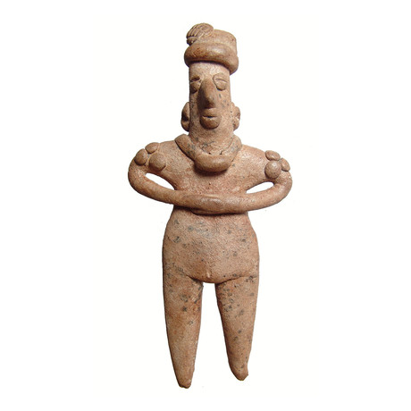 Large Colima Female Figure // West Mexico, c. 100 BC - AD 250