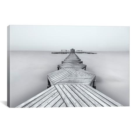 """The Pier // Xavier Garci (18""""W x 12""""H x 0.75""""D)"""