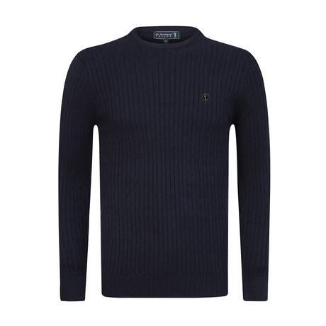 Handsome Pullover // Navy (S)