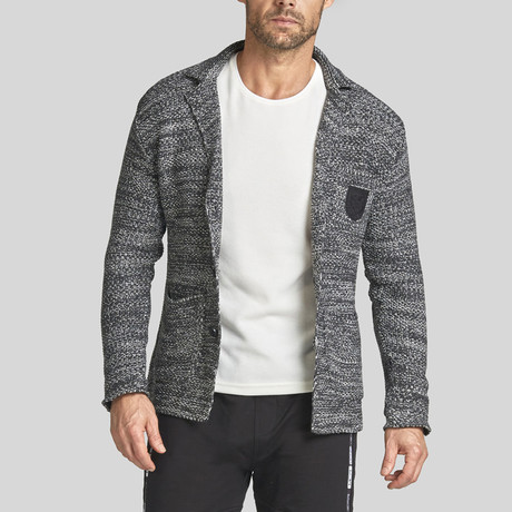 Hawk Wool Tricot Jacket // Anthracite (S)