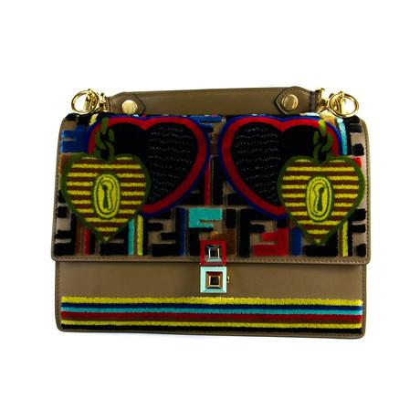 Fendi // Women's Kan I Handbag // Multicolor