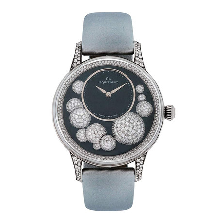 Jaquet Droz Ladies Petite Heure Minute Celeste Automatic // J005024530 // Store Display