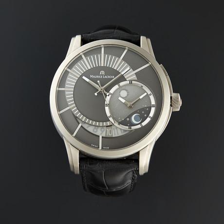 Maurice Lacroix Pontos Decentrique GMT Automatic // PT6108-TT031-291 // Pre-Owned