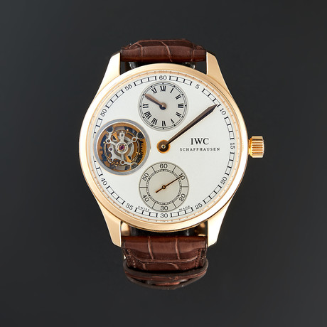 IWC Portuguese Regulator Tourbillon Manual Wind // IW544602 // Store Display