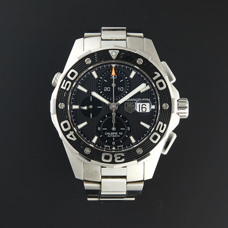 Tag Heuer Aquaracer Chronograph Automatic // CAJ2110.FT6023 // Pre-Owned