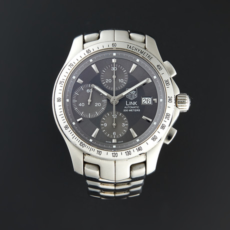 Tag Heuer Link Chronograph Automatic // CJF2115.BA0594 // Pre-Owned