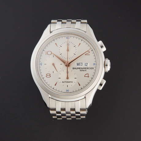 Baume & Mercier Clifton Chronograph Automatic // M0A10130 // Pre-Owned