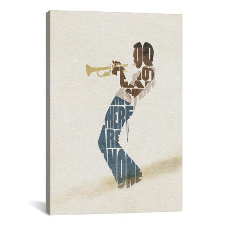 "Miles Davis // Ayse Deniz Akerman (26""W x 40""H x 1.5""D)"