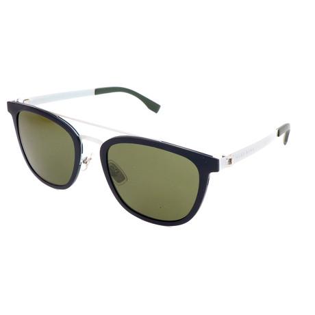 Men's 0861F Sunglasses // Matte Blue Palladium