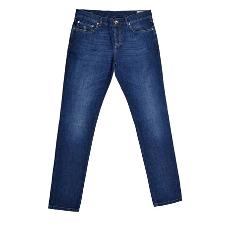 5 Pocket Denim Jeans // Blue (30WX32L)