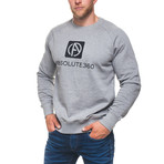 Logo Sweatshirt // Gray (L)