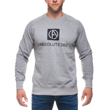 Logo Sweatshirt // Gray (XS)