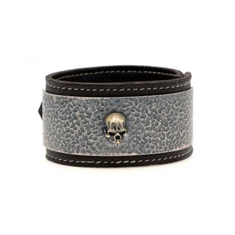 Erize Bracelet // Silver + Black