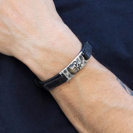 Erita Bracelet // Black + Silver