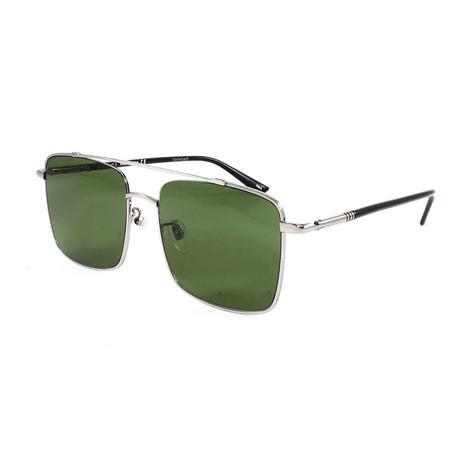 Men's GG0610SK Sunglasses // Ruthenium + Black + Green