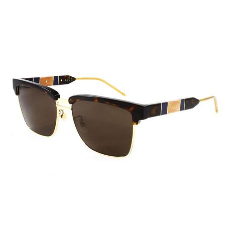 Men's GG0603S Sunglasses // Havana Brown