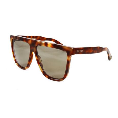 Men's GG0582S Sunglasses // Havana Brown