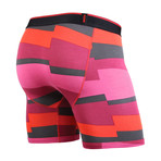 Classic Boxer Brief // Funky Stripe // Red (S)