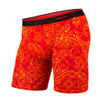 Classic Boxer Brief // Red + Yellow (S)
