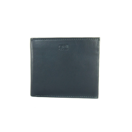 Cavalli Class // Smooth Bi-Fold Wallet // Gray