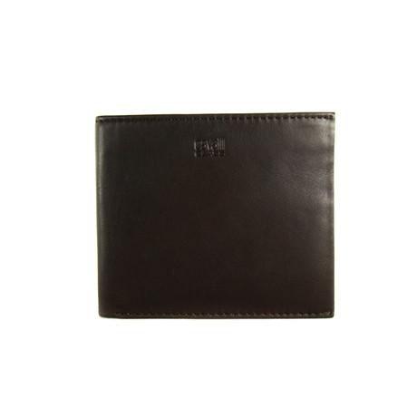 Cavalli Class // Smooth Bi-Fold Wallet // Brown