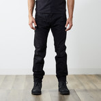 "Tepphar Slim Carrot Jeans // Black // 32"" Inseam (26WX32L)"