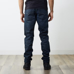 "Tepphar Slim Carrot Jeans // Black + Blue // 32"" Inseam (26WX32L)"