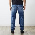"Krayver II Reg Slim Carrot Jeans // Blue // 32"" Inseam (27WX32L)"