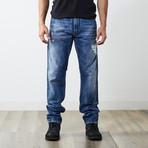 "Krayver II Reg Slim Carrot Jeans // Blue // 32"" Inseam (29WX32L)"