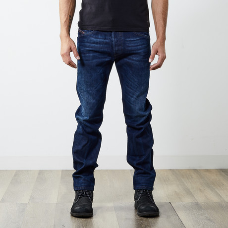 "Belther Reg Slim Tapered Jeans // Blue // 30"" Inseam (26WX30L)"