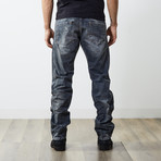 "Darron Reg Slim Tapered Jeans // Blue // 32"" Inseam (26WX32L)"