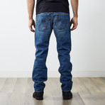 "Buster Reg Slim Tapered Jeans // Medium Blue // 30"" Inseam (28WX30L)"
